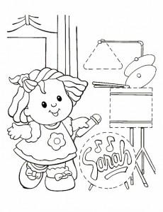 målarbok Little People (5)
