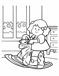 coloring page Little People (7)