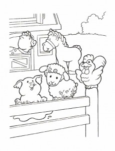 coloring page Little People (9)