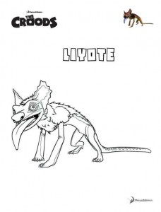 coloring page Liyote