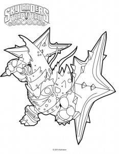 coloring page lob star