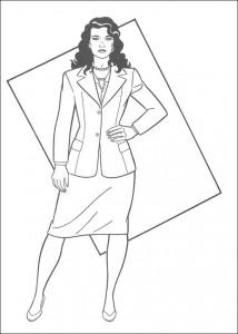 Dibujo para colorear Loïs Lane (1)