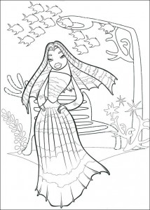 coloring page Lola