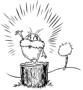 coloring page Lorax and the disappeared forest (1)