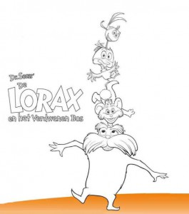 coloring page Lorax and the disappeared forest (2)