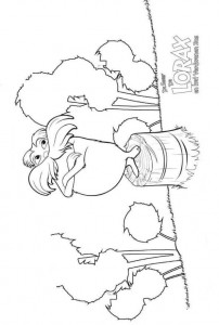coloring page Lorax and the disappeared forest (4)