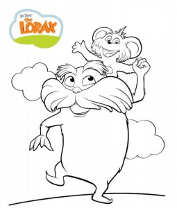 coloring page Lorax and the disappeared forest (5)