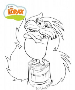 coloring page Lorax and the disappeared forest (6)