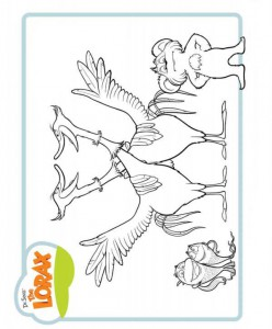 coloring page Lorax and the disappeared forest (8)