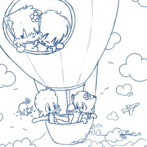 coloring page Balloons (1)