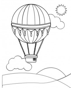 coloring page Balloons (3)