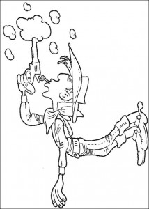 coloring page Lucky Luke (1)