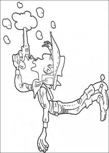 Malvorlage Lucky Luke (1)