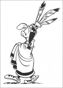 coloring page Lucky Luke (10)