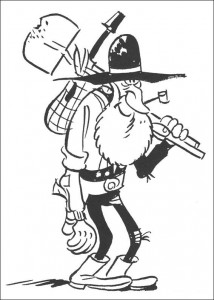 coloring page Lucky Luke (12)
