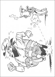 coloring page Lucky Luke (14)