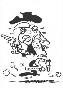 coloring page Lucky Luke (15)