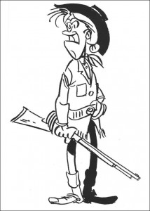coloring page Lucky Luke (16)