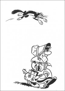coloring page Lucky Luke (18)