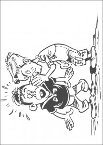 Malvorlage Lucky Luke (24)