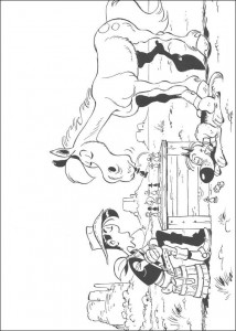 målarbok Lucky Luke (25)
