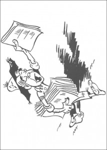 Malvorlage Lucky Luke (27)
