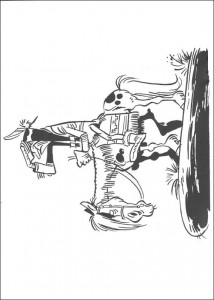 coloring page Lucky Luke (32)