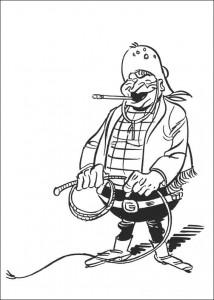 Malvorlage Lucky Luke (34)