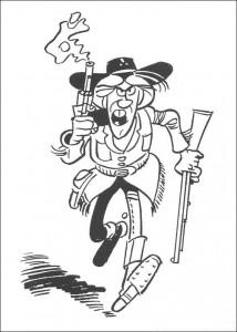 Malvorlage Lucky Luke (35)