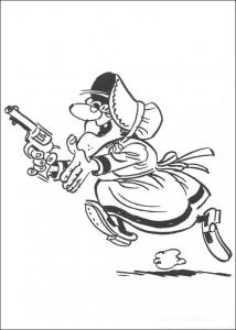 Malvorlage Lucky Luke (36)