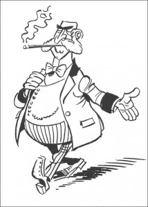 coloring page Lucky Luke (47)