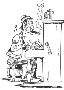 coloring page Lucky Luke (49)