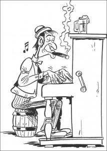 Malvorlage Lucky Luke (49)