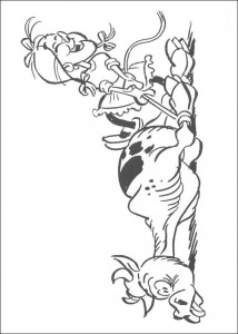 coloring page Lucky Luke (5)