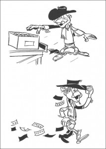 coloring page Lucky Luke (50)