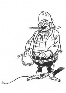 coloring page Lucky Luke (52)