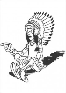 coloring page Lucky Luke (6)