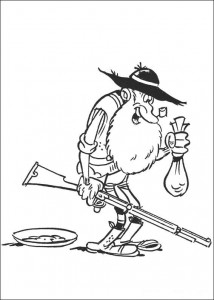 coloring page Lucky Luke (7)