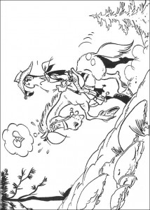 coloring page Lucky Luke