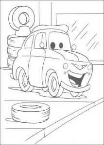 coloring page Luigi