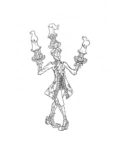 coloring page lumiere 2