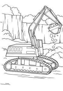 coloring page Machines (2)