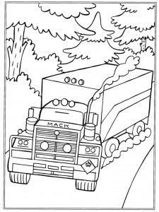 coloring page Mack (1)