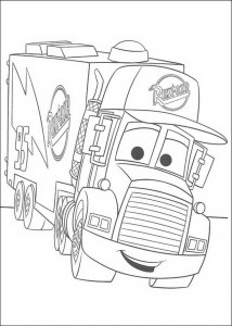 coloring page Mack