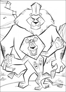 coloring page Madagascar 2 (15)