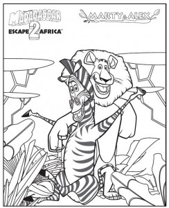 coloring page Madagascar 2 (16)