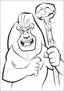 coloring page Madagascar 2 (18)