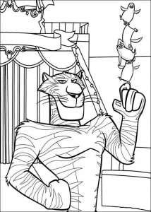coloring page Madagascar 3 (1)