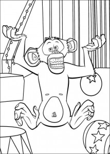 coloring page Madagascar 3 (16)