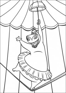 coloring page Madagascar 3 (20)